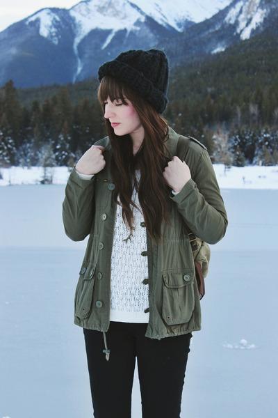 camel winter Sorel boots - black skinny jeans Just Usa jeans