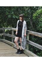 black ankle boots Steve Madden boots - black Lush dress