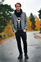 Cheap Monday jeans - Topman blazer - 5Preview t-shirt