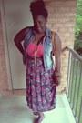 Cami-bodysuit-thrifted-skirt-thrifted-vest-thrifted-belt