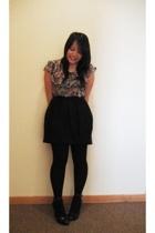 BCBG Runway Collection skirt - Go International blouse