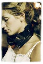 black Triskaidekaphobia necklace