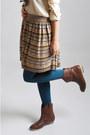 Asos-blouse-h-m-boots-asos-tights-asos-scarf-asos-skirt