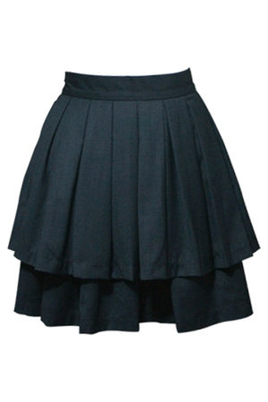 black BB Dakota skirt