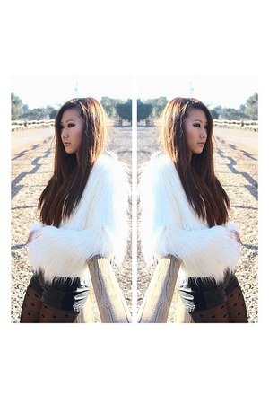 faux fur coat coat