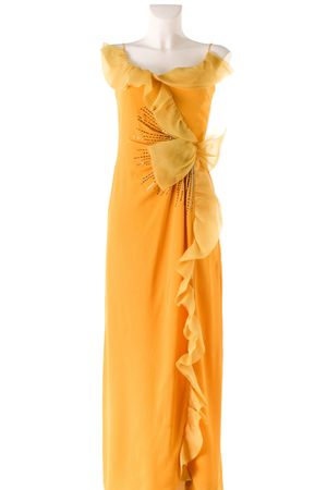 yellow Nina Ricci dress