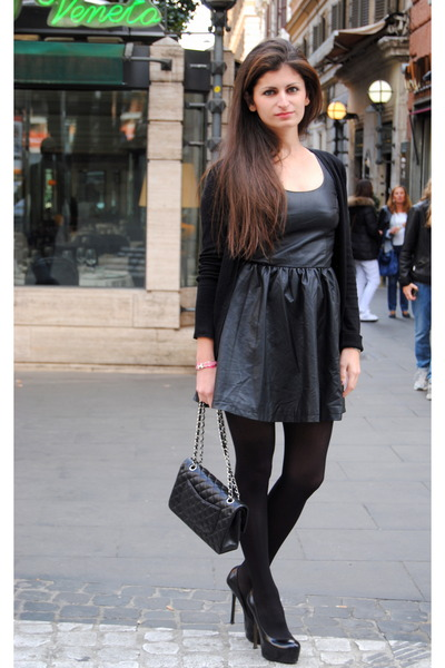 Chanel Bag Black Black h Amp m Dress Black Chanel