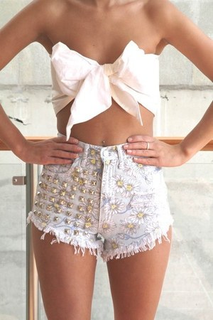 stuts shorts - bow top