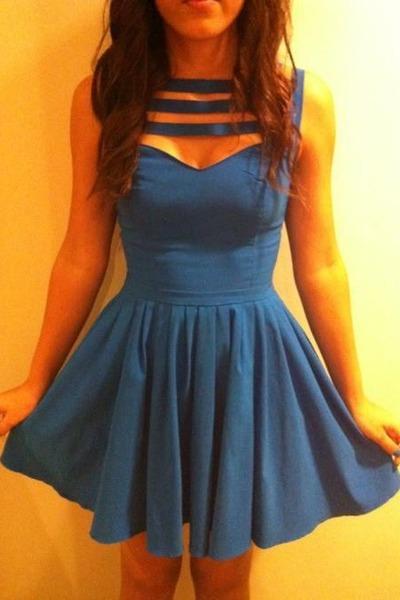 Blue Some Vintage Store Dresses  &quotLittle Blue dress.&quot by ...