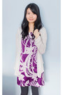 Purple-vero-moda-dress