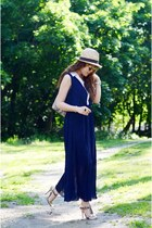 Pleated Bohemian Dress