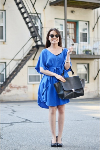 Shoppalu dress - OASAP bag - shopakira bracelet
