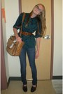 Hollister-jeans-vintage-bag-vintage-loafers-vintage-belt-vintage-blouse