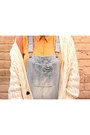 Light-blue-new-look-jeans-mustard-collared-shirt-top-shop-blouse