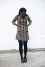 Leather-madewell-shoes-vintage-dress