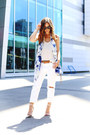 White-ripped-joe-fresh-jeans-blue-tie-dye-joe-fresh-scarf