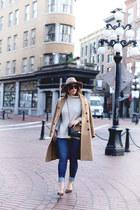 camel Aritzia coat
