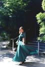 Dark-green-maxi-dress-revolve-dress