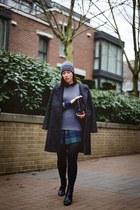 heather gray cashmere Joe Fresh sweater - gray menswear H&M coat