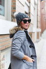 Heather-gray-fur-trimmed-express-coat-navy-flare-express-jeans