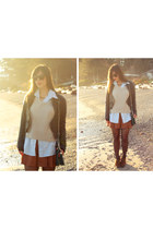 Club Monaco skirt - Twenty8Twelve jacket - H&M sweater - Rebecca Minkoff bag