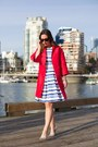 Blue-424-fifth-dress-red-424-fifth-coat-silver-call-it-spring-heels