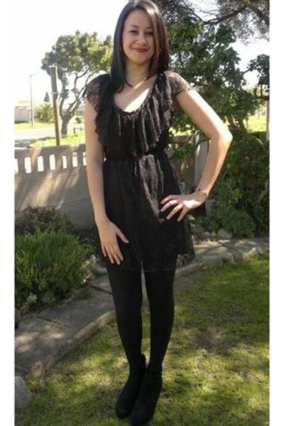 Black Wedges Wedges Lace Dress Mr Price Dresses Black Tights