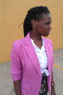 Bubble-gum-thrift-store-blazer-white-the-limited-shirt-teal-h-m-jumper