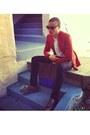 Zara-blazer-yves-saint-laurent-shirt-celine-bag-celine-sunglasses
