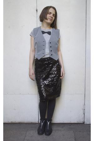 odji skirt - flea market vest