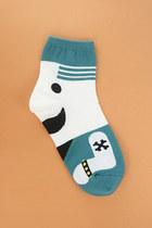 Turquoise Blue TPRBT Socks