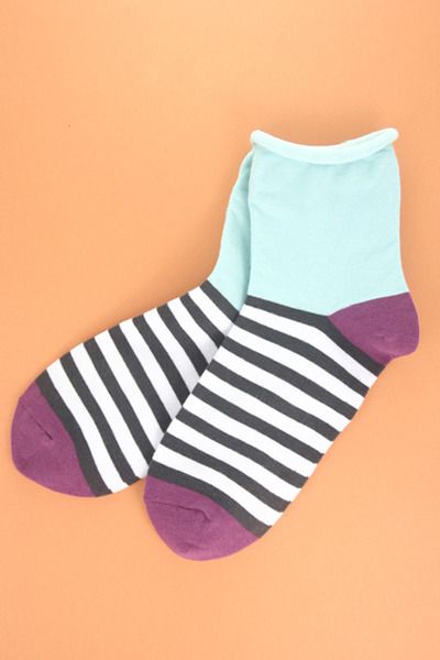 light blue TPRBT socks