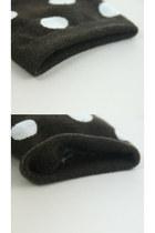 Navy Polka Dot Socks TPRBT Socks