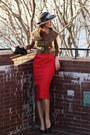 Modcloth-dress-cartier-bag