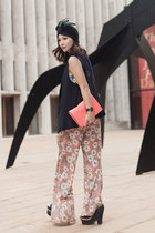 kate spade bag - Zara top - UO pants