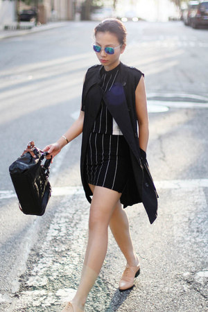 fewmoda top - fewmoda skirt - H&M loafers