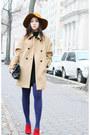 Comptoir-des-cotonniers-coat-cartier-bag-rebecca-minkoff-heels