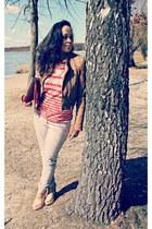 tan H&M jacket
