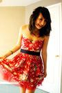 Red-forever-21-dress