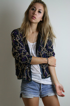 Treasure Chest vintage jacket - alternative apparel shirt - Treasure Chest vinta