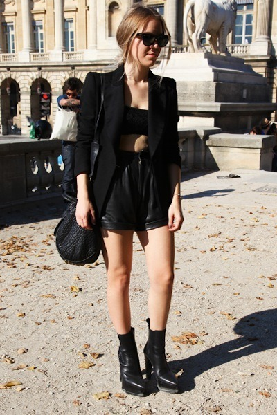 black Alexander Wang shoes - black Zara blazer - black Alexander Wang bag