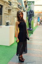 H&M Trend dress - Marc by Marc Jacobs bag - Michael Kors wedges