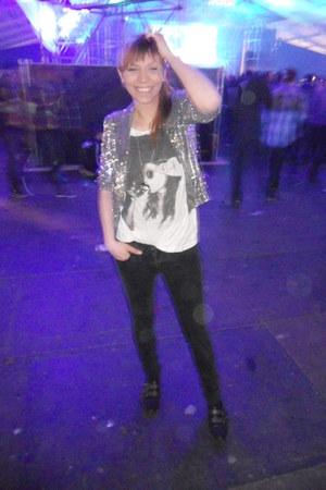 Primark jeans - La Redoute jacket - H&M blouse