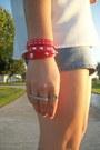 Spiked-vintage-boots-studded-rms-bracelet
