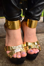 Black-gold-plated-nature-breeze-wedges