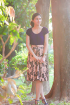 The TrimmingsAndLace Collection skirt - Forever 21 top - Marks&Spencer wedges