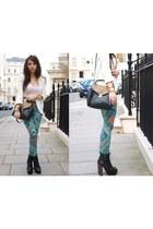 Topshop jeans - Topshop shoes - Topshop blazer - Zara bag