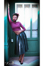 Faux-leather-bag-black-faux-leather-ovs-skirt-crop-top-h-m-top-heels