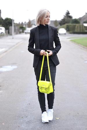 Bershka blazer - Mango jumper - Zara pants - Reebok sneakers