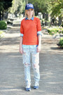 One-teaspoon-jeans-filles-a-papa-hat-zara-blouse-asos-t-shirt